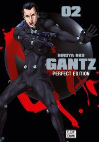 Gantz T2, manga chez Delcourt Tonkam de Oku