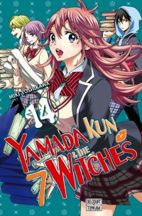 Yamada kun & the 7 witches T14, manga chez Delcourt Tonkam de Yoshikawa