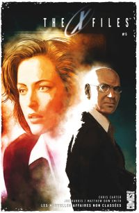 The X-Files T5, comics chez Glénat de Harris, Dow Smith, Bellaire, Bannister