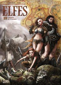 Elfes – cycle Les semi elfes, T19 : L'Ermite de l'Ourann (0), bd chez Soleil de Corbeyran, Vukic