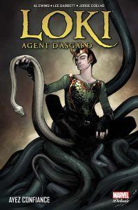 Loki - Agent d'Asgard T1 : Ayez confiance (0), comics chez Panini Comics de Ewing, Coelho, Garbett, Woodard, Coipel