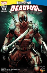 Deadpool (revue) T4 : Deadpool 2099 (0), comics chez Panini Comics de Kelly, Bunn, Duggan, Coello, McGuinness, Koblish, Guru efx, Filardi, Keith, Keown