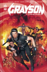 Grayson T3 : La fin de Spyral (0), comics chez Urban Comics de King, Seeley, Lanzing
