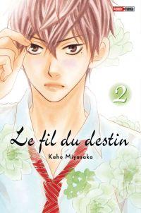 Le fil du destin T2, manga chez Panini Comics de Miyasaka