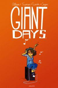 Giant Days T2, comics chez Akileos de Allison, Sarin, Treiman, Cogar