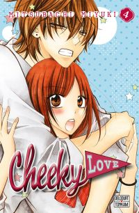 Cheeky love T4, manga chez Delcourt Tonkam de Mitsubachi