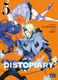 Distopiary T5, manga chez Pika de Senga, Tellmin