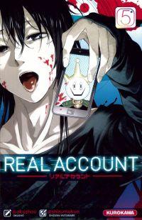 Real account T5, manga chez Kurokawa de Okushou, Shizumukun
