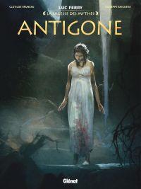Antigone, bd chez Glénat de Bruneau, Baiguera, Ruby, Vignaux