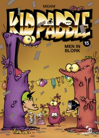 Kid Paddle T15 : Men in Blork (0), bd chez Glénat de Midam, Angèle