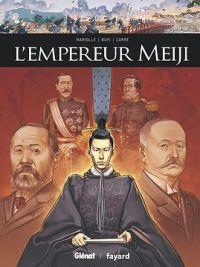 L'Empereur Meiji, bd chez Glénat de Mariolle, Bufi, Arancia