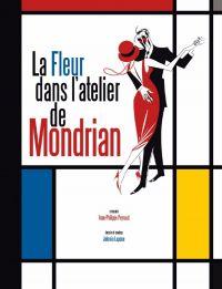 La Fleur dans l'atelier de Mondrian, bd chez Glénat de Peyraud, Lapone