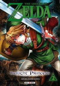 The legend of Zelda - Twilight princess T2, manga chez Soleil de