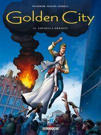 Golden city T12 : Guérilla Urbaine (0), bd chez Delcourt de Pecqueur, Malfin, Schelle