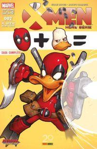 X-Men Hors Série (revue) (V4) T2 : Deadpool le canard (0), comics chez Panini Comics de Moore, Camagni, Silva, Nakayama