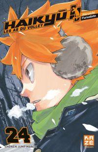 Haikyû, les as du volley T24, manga chez Kazé manga de Furudate