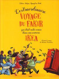 L'Extraordinaire voyage du fakir qui était resté coincé dans une armoire Ikéa, bd chez Jungle de Falzar, Zidrou, Park, 1ver2anes