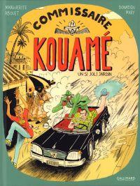 Commissaire Kouamé T1 : Un si joli jardin (0), bd chez Gallimard de Abouet, Mary, Boniaud