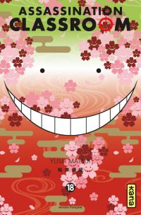 Assassination classroom T18, manga chez Kana de Yusei
