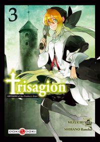 Trisagion T3, manga chez Bamboo de Mizuchi, Shibano