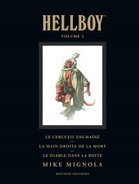 Hellboy T2, comics chez Delcourt de Mignola, Sinclair, Stewart, Hollingsworth