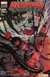 Deadpool (revue) T6 : Jusqu'à ce que la mort... (2/2) (0), comics chez Panini Comics de Corin, Hastings, Duggan, Coello, Koblish, Espin, Guru efx, Redmond, Filardi, Brown