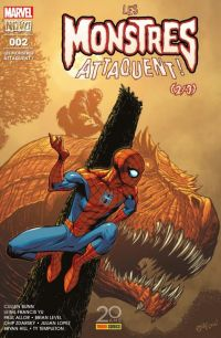 Les Monstres Attaquent ! T2, comics chez Panini Comics de Whitely, Bunn, Zdarsky, Hill, Allor, Lim, Alanguilan, Ortiz, Lopez, Templeton, Barberi, Level, Yu, d' Armata, Curiel, Renzi, Lopes, Peter, Boyd, McGuinness