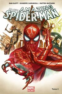 All-New Amazing Spider-Man T2 : Le royaume de l'ombre (0), comics chez Panini Comics de Slott, Camuncoli, Buffagni, Smith, Gracia, Ross