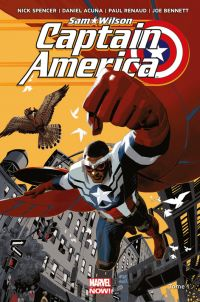 Captain America - Sam Wilson T1 : Pas mon Captain America (0), comics chez Panini Comics de Spencer, Renaud, Choi, Bennett, Acuña, Fajardo Jr