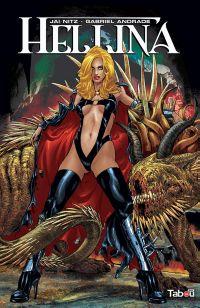 Hellina T1, comics chez Tabou de Nitz, Christensen, Di Amorim, Lopez, Silva, Andrade Jr, Rodriguez, Digikore studio, Zircher