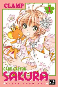 Card Captor Sakura – Clear card arc T1, manga chez Pika de Clamp