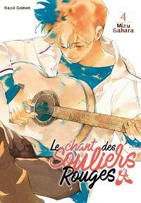 Le chant des souliers rouges T4, manga chez Kazé manga de Sahara