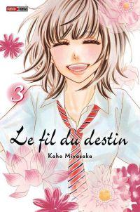 Le fil du destin T3, manga chez Panini Comics de Miyasaka