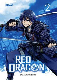 Red dragon T2, manga chez Glénat de Ikeno