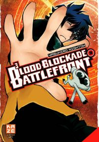 Blood blockade battlefront T9, manga chez Kazé manga de Nightow