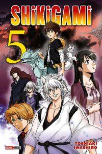 Shikigami T5, manga chez Panini Comics de Iwashiro