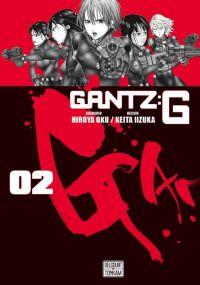 Gantz:G T2, manga chez Delcourt Tonkam de Oku, Iizuka