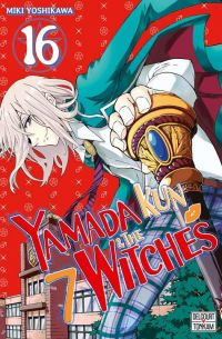 Yamada kun & the 7 witches T16, manga chez Delcourt Tonkam de Yoshikawa