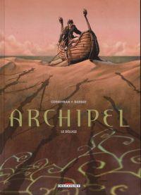Archipel T1 : Le déluge (0), bd chez Delcourt de Corbeyran, Barbay