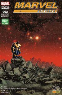 Marvel Universe T2 : Étrange alliance (0), comics chez Panini Comics de Zdarsky, Perez, Loveness, Duggan, Lemire, Kuder, Peralta, Morissette, Lopes, Rosenberg, Herring, Svorcina, Deodato Jr