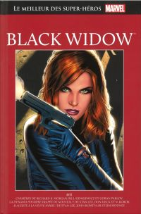 Marvel Comics : le meilleur des super-héros T13 : Black Widow (0), comics chez Hachette de Korok, Lee, Morgan, Parlov, Romita Sr, Heck, Sienkiewicz, Mooney, Brown