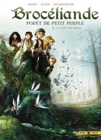 Brocéliande T3 : Le Jardin aux moines (0), bd chez Soleil de Jarry, Djief, Jacquemoire