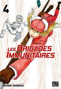 Les brigades immunitaires T4, manga chez Pika de Akane