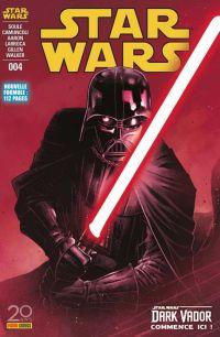 Star Wars (revue Marvel) V2 T4 : L'élu - Couverture 2/2 (0), comics chez Panini Comics de Gillen, Soule, Aaron, Larroca, Camuncoli, Walker, Curiel, Delgado, Fabela