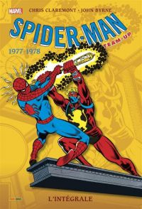 Spider-Man Team-Up T5 : 1977-1978 (0), comics chez Panini Comics de Friedrich, Claremont, Mantlo, Chaykin, Wenzel, Byrne, Warfield, Titus, Hunt, Rachelson