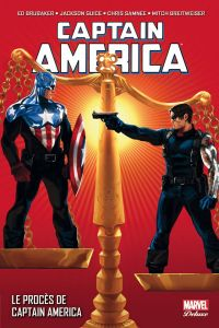 Captain America T9 : Le procès de Captain America (0), comics chez Panini Comics de Brubaker, Breitweiser, Guice, Deodato Jr, Acuña, Samnee, Gaudiano, Sotomayor, Beredo, Breitweiser, Martin jr, Djurdjevic