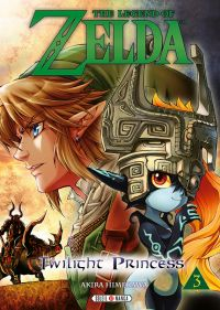 The legend of Zelda - Twilight princess T3, manga chez Soleil de Himekawa