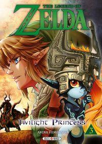 The legend of Zelda - Twilight princess T3, manga chez Soleil de Himekawa