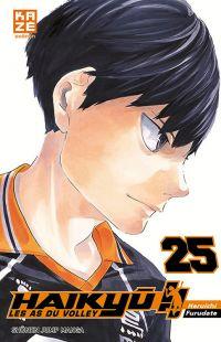 Haikyû, les as du volley T25, manga chez Kazé manga de Furudate
