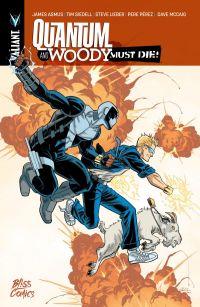 Quantum & Woody must die!, comics chez Bliss Comics de Siedell, Asmus, Level, Pérez, Lieber, Villarrubia, McCaig, Quintana, Passalaqua, Hawthorne
